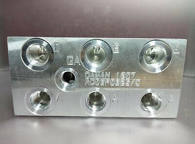 Daman Aluminum Valve Manifold Ad03p032sc