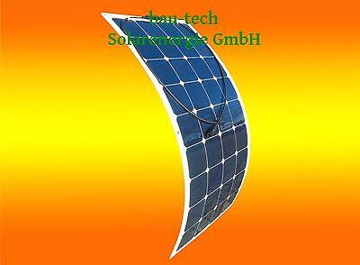 100W 12V Mono Semi Solarmodul flexibel Solarpanel für Boot Wohnmobil Camping