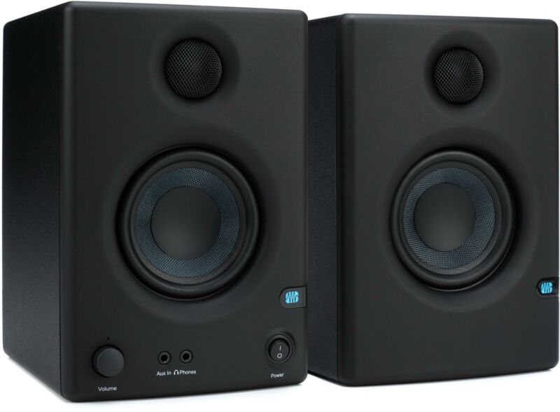 PreSonus Eris E3.5 3.5 inch Powered Studio Monitors