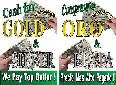 Poster Cash For Gold Compramos Oro Spanish 2 Advertising Posters 18x24