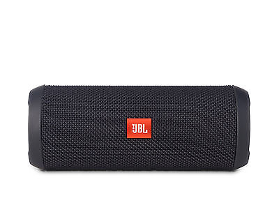 JBL Flip 3 Splashproof Portable Bluetooth Speaker-BLACK - New Model 2016