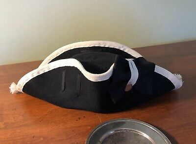 Authentic British Army Redcoat Style Revolutionary War Cocked Hat
