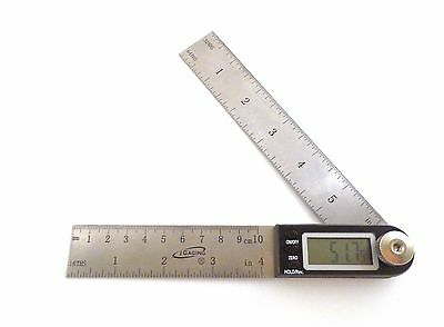 7 Electronic Digital Protractor Goniometer Angle Finder Miter Gauge Igaging