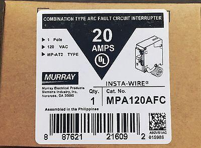 Murray Mp120afc 20-amp 1 Pole 120-volt Combination Type Arc Fault Circuit Interr