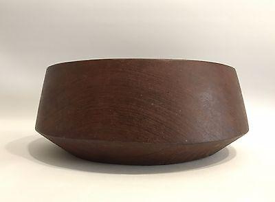 Teak Schale Holz Wood Bowl 50s 60s Design Danish Modern 50er 60er Jahre Konisch