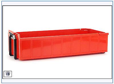 99105 Absetzmulde,niedrige Bordwand,rot,passend zu EMEK Lkw&LGB,EMEK 1:25, NEU&