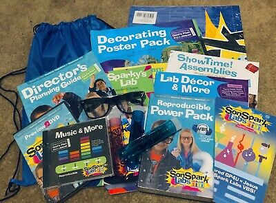 SonSpark Labs VBS Sunday School Kids Vacation Bible School Kit USE FOR 2019](Kids Sunday School)
