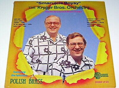 "FACTORY SEALED KRYGER BROTHERS POLISH POLKA RECORD LP ""SMARUJCIE BOYSY"" SEALED for sale  Shipping to India"