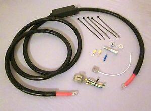 87-93 Ford Mustang > 3G Alternator Wiring Kit PREMIUM Upgrade. conversion w ASI
