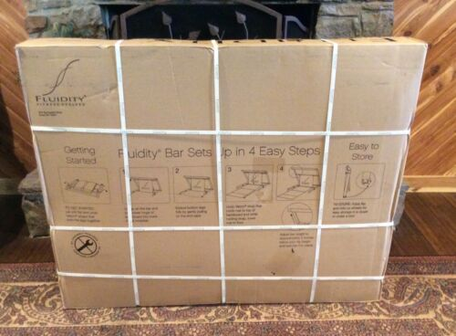 FLUIDITY BAR FITNESS EVOLVED EXERCISE SYSTEM BRAND NEW IN BOX!!!!