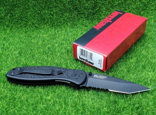 Kershaw Blur Assisted Folding Knife, 3.4in Sandvik 14C28N Steel - 1670TBLKST