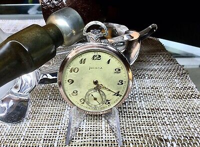 Helvetia 32 BL. Reloj De Bolsillo Vintage. In Working Order