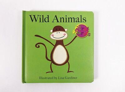 Wild Animals Lisa M Gardiner First Words by Flowerpot Press