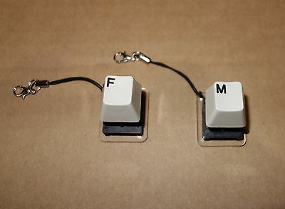 Ibm Model F   M Buckling Spring   Keychains Clicky Keyboard Switch Tester At Xt