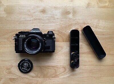 Canon AE-1 Program Black + 50mm 1.4 nFD