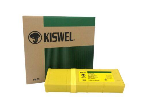 "E6011 1/8"" 3/32"" 5/32"" Kiswel Premium Arc Welding Electrode 10 / 20 / 30 LB"
