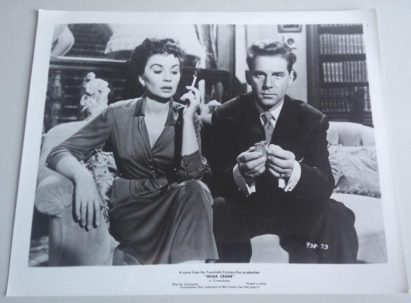 Hilda Crane '56 JEAN SIMMONS JEAN PIERRE AUMONT SMOKING