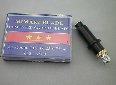 1pcs Hq Blade Holder 5pcs 60 Blades For Mimaki Vinyl Cutter Cutting Plotter