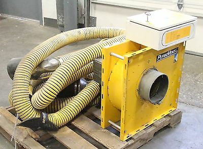 PlymoVent OS3 Vehicle Exhaust Removal Complete System w/ 16' 20' Hose Suction