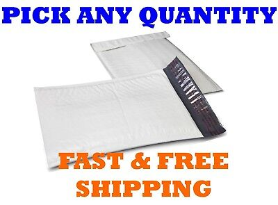 000 4x8 Poly Bubble Mailers Shipping Mailing Padded Bags Envelopes 5x8 X-wide