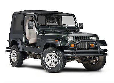 1988-1995 Jeep Wrangler Replacement Roof & Tinted Windows Half Door Soft Top