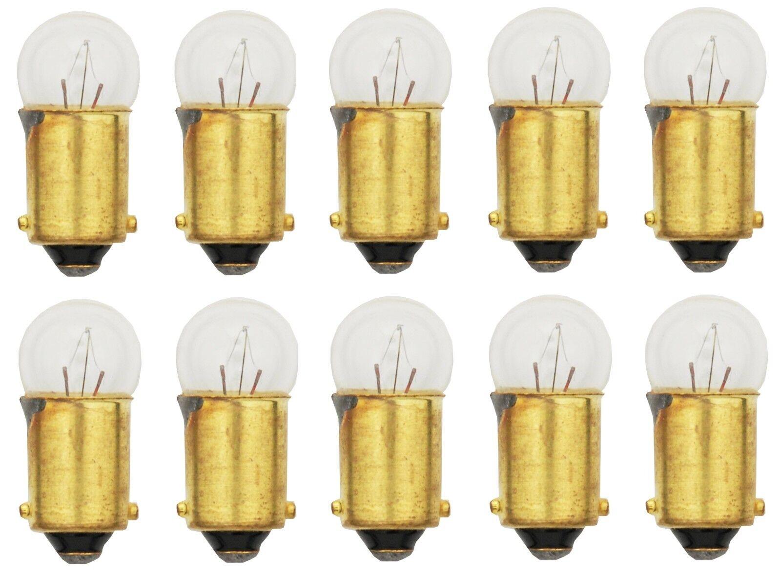 10x 53 Light Bulb Miniature Gauge Cluster Instrument Panel