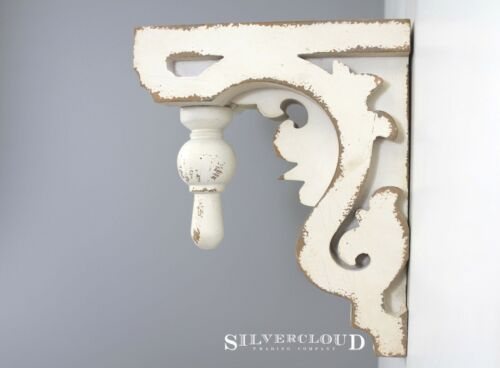 "Silvercloud Trading Co. SINGLE Architectural CORBEL, Bracket, Bookend LRG 11"""