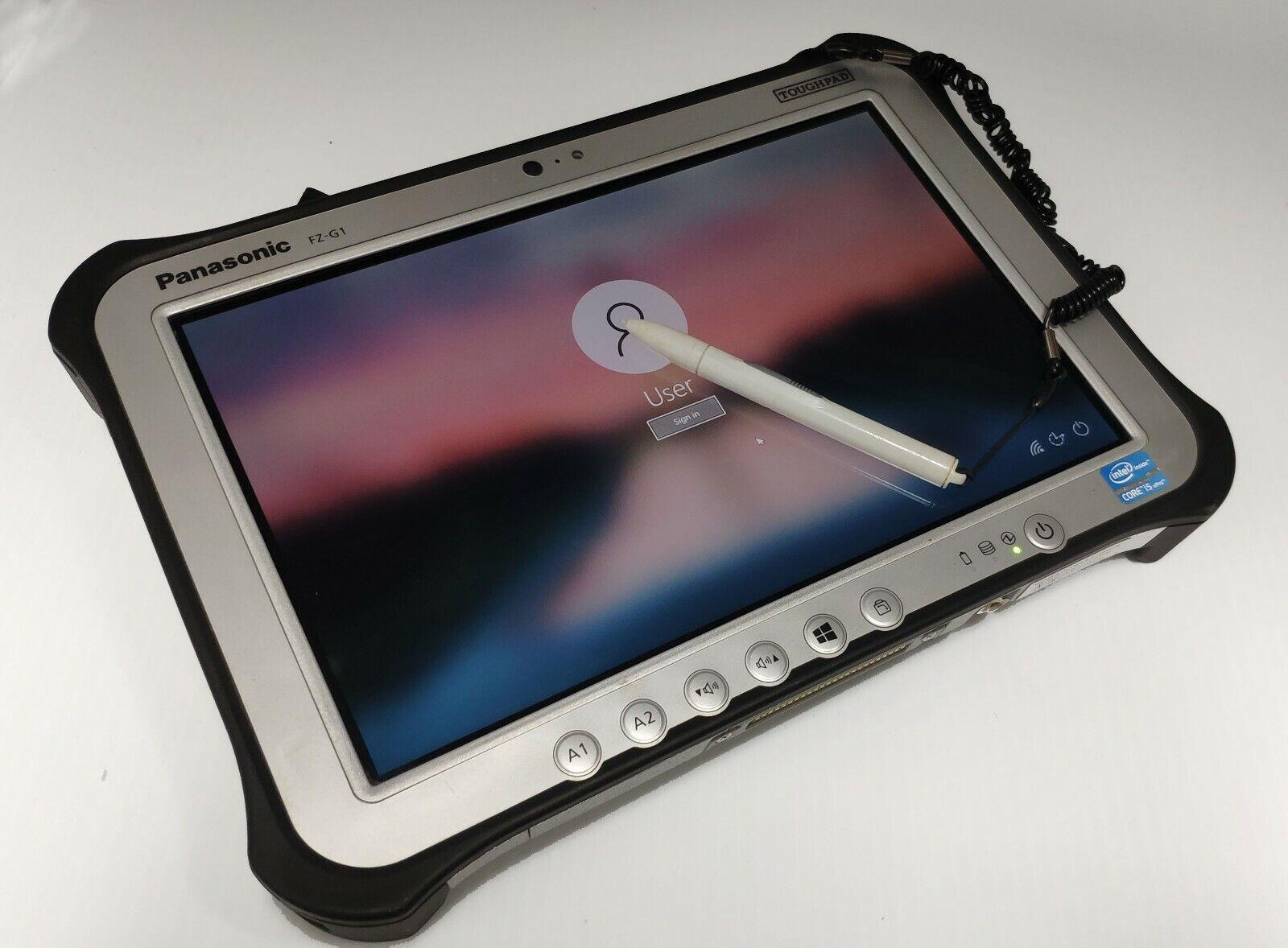 Laptop Windows - Panasonic toughpad windows 10 rugged tablet waterproof i5 8GB