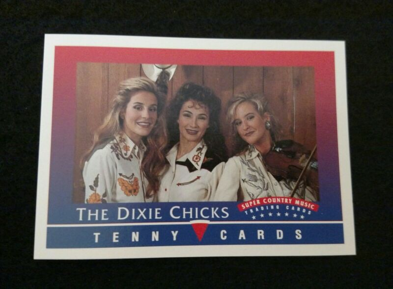 WOW! 1992 Tenny Cards ~ THE DIXIE CHICKS (with Laura Lynch) ~ Country Music