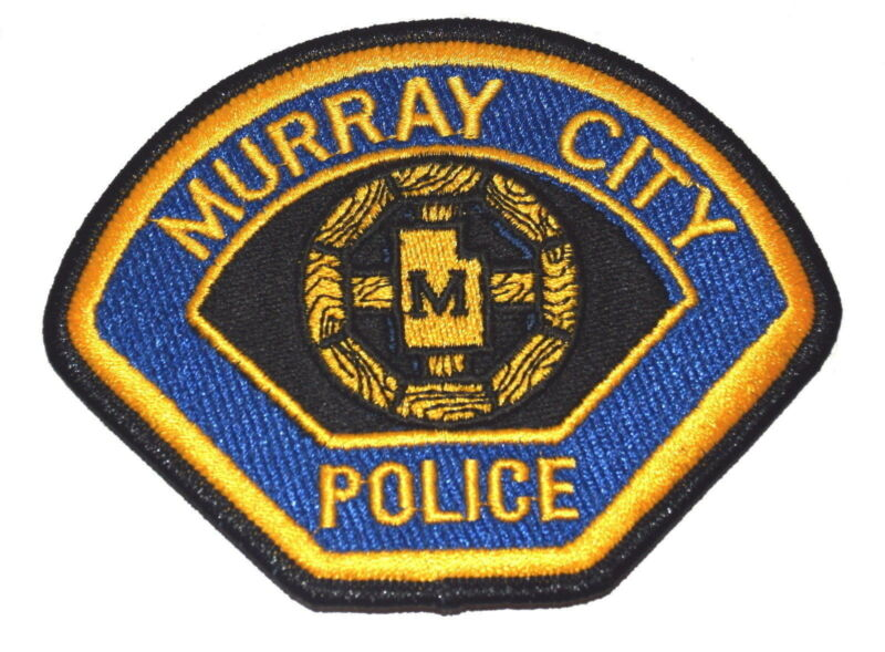 MURRAY CITY UTAH UT Police Sheriff Patch CITY LOGO WREATH ~