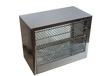 Counter Top Electric Food Merchandiser / Pie Warmer Cabinet