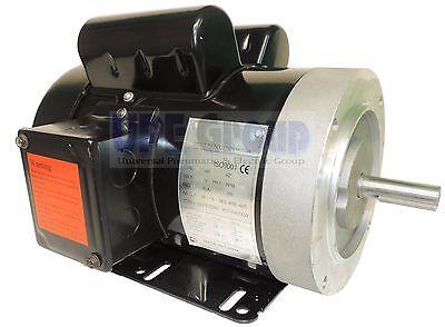 2 Hp Electric Motor 3450 3600 Rpm 1ph 56c Frame Tefc 115230v General Purpose