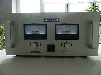 Audio Research reference 75 valve power amplifier
