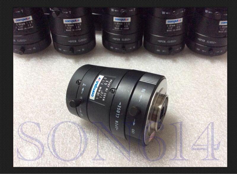 """1x Computar Varifocal Lens 5~50mm Manual Iris 1/3"""" CS 1:1.3 CCTV Security Camera"""