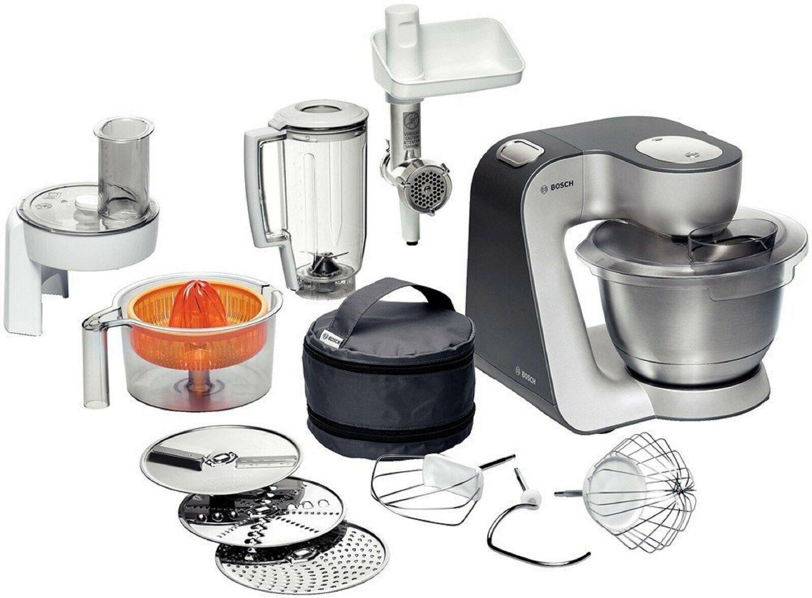Bosch MUM56340 Styline 900W Küchenmaschine - Silber