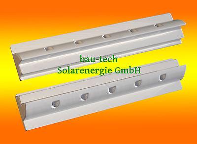 2 x 55cm ABS Dachspoiler Wohnmobil Halter Solarmodul Solarzelle Befestigung Womo