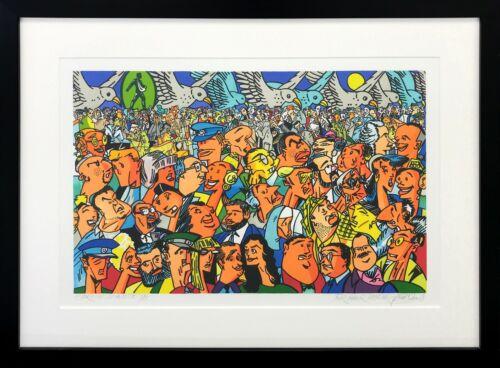 "Gudmundur Erro ""homage To Federico Garcia Lorca"" 2002 | Framed Hand Signed Print"
