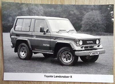 P1260 TOYOTA LAND CRUISER II - PHOTO