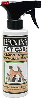 Banixx Pet Care For Dog Ear Infections, Hot Spots, Ringworm, Itchy Skin and Skin
