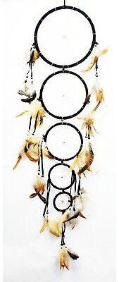 Dreamcatcher Wall Decoration Feather Craft Adorn Dream Catcher 18' New Black