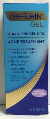 differin gel acne treatment 1.6 oz