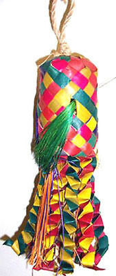 - 03121 Small Octupus Pinata Parrot Bird Toy Cage Toys Cages Chew Foraging Conure