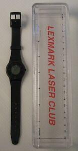 lexmark laser club, orologio promozionale, vintage watch, nuovo con cofanetto - Italia - L'oggetto può essere restituito - Italia