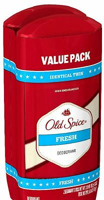 Spice Scent - Old Spice High Endurance Deodorant Twin Pack, Fresh Scent 3 oz