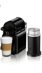 Nespresso Inissia expresso and latte maker with milk frother