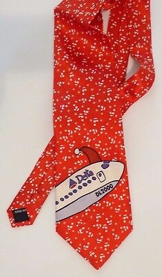 Delta Air Lines Habitat For Humanity 2000 Silk Tie