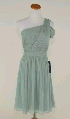 NEW J.CREW $228 SILK CHIFFON CARA DRESS 2 DUSTY SHALE BRIDESMAID PARTY C8932 for sale  Austell