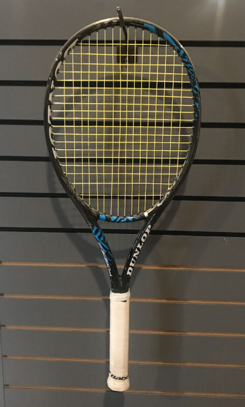 Dunlop Force 98 Tour - USED, STRUNG - (4 3/8 Grip)