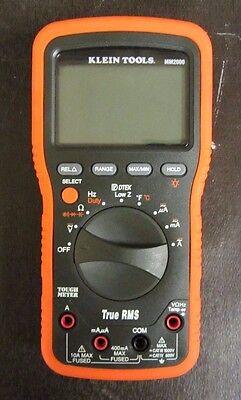 Klein Tools Mm2000 - No Leads - Electricians Hvac Multimeter ---z