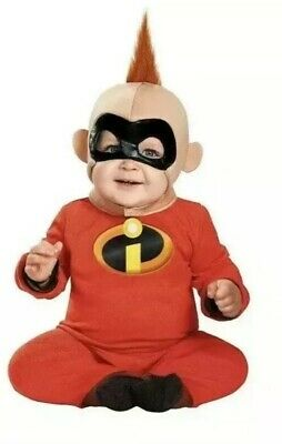 The Incredibles Baby Jack (Disney's The Incredibles Jack-Jack Costume Infant Baby 0-6)